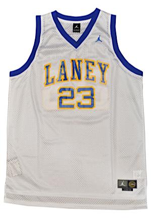 46d3e3961fcc Lot Detail - Michael Jordan Emsley A. Laney Buccaneers High School ...
