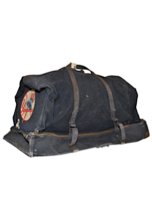 1950s Jerry Coleman New York Yankees Team Issued Equipment Bag