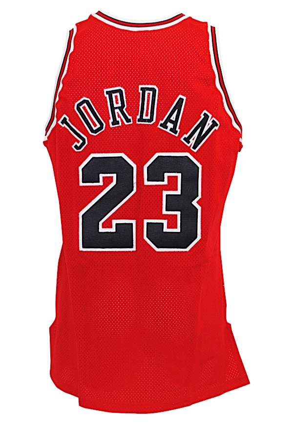info for 2610c 9e768 Lot Detail - 1992-93 Michael Jordan Chicago Bulls Game-Used ...