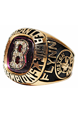 1986 Boston Red Sox American League Champions Ring (Rare)