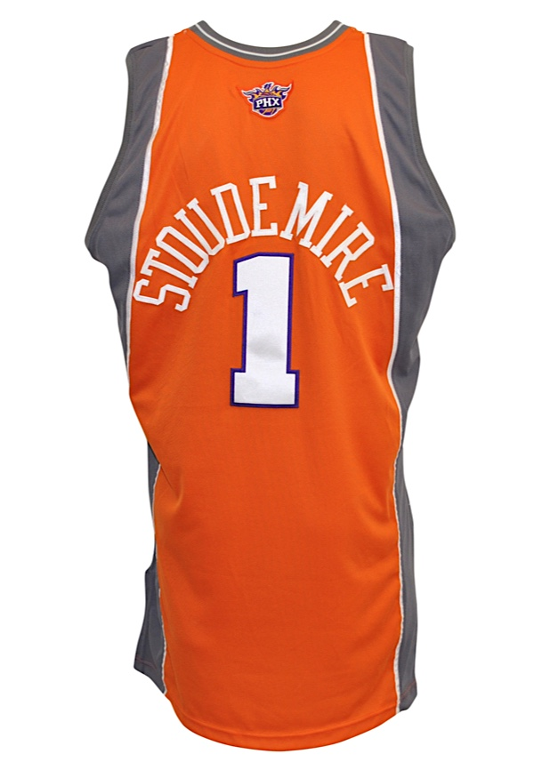 Lot Detail - 2008-09 Amar e Stoudemire Phoenix Suns Game-Used ... c0dbce5cc