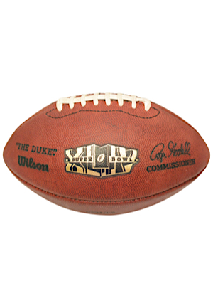 2/7/2010 Indianapolis Colts Super Bowl XLIV Game-Used Football (Colts LOA)