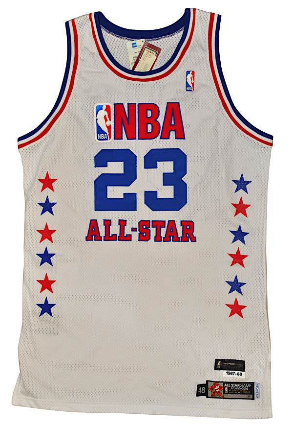 timeless design 9a55b 9e813 Lot Detail - 2003 Michael Jordan NBA All-Star Game Eastern ...