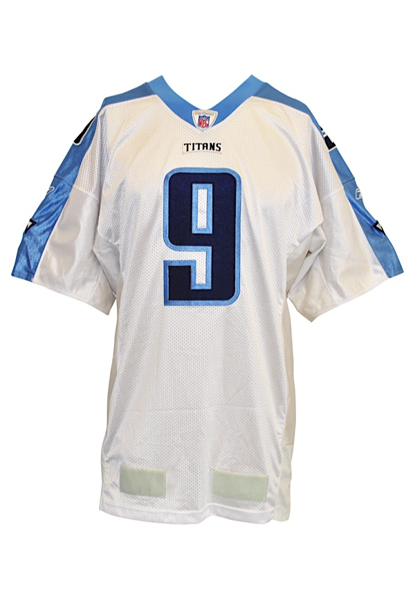 low priced 9cf82 8ac13 Lot Detail - 2001 Steve McNair Tennessee Titans Game-Used ...
