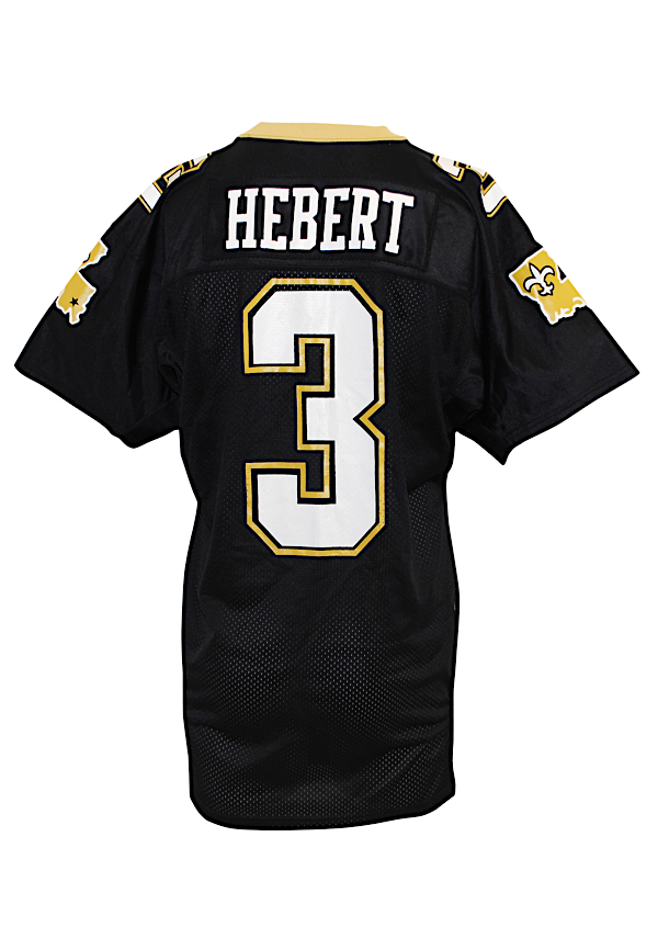 Lot Detail - Late 1980s Bobby Hebert New Orleans Saints Game-Used ...