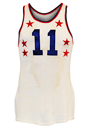 1952 Paul Arizin NBA All-Star Game Eastern Conference Game-Used Durene Jersey (Arizin LOA • All-Star Game MVP)