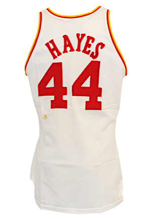 Early 1980s Elvin Hayes Houston Rockets Game-Used Home Jersey (Video-Matched)