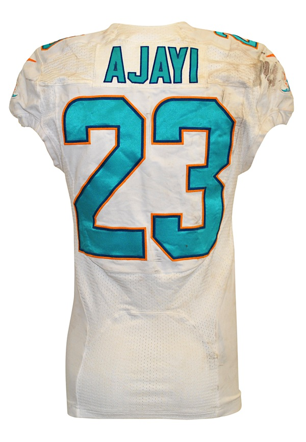 a782079e Lot Detail - 9/25/2016 Jay Ajayi Miami Dolphins Game-Used Home ...