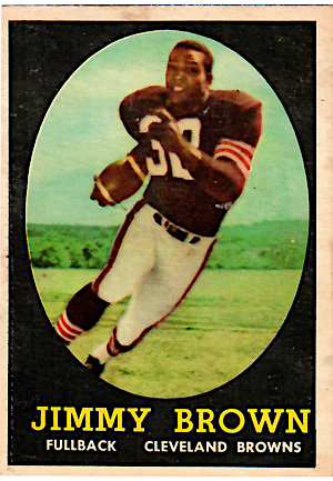 1958 Topps Jim Brown #62