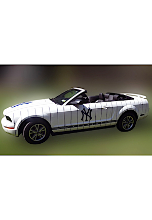 "2005 Ford Mustang New York Yankees Limited Edition Factory Home ""Pinstripe"" Convertible (Very Low Mileage)"