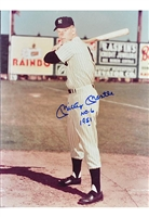 Mickey Mantle New York Yankees Signed Photo With 1951 & N0. 6 Inscriptions (JSA)