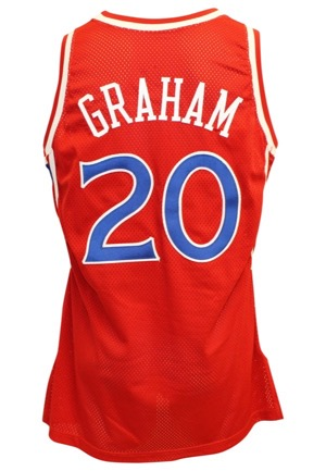 1990s Greg Graham & Matt Geiger Philadelphia 76ers Game-Used Jerseys (2)(JSA)