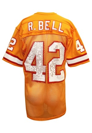 1981 Ricky Bell Tampa Bay Buccaneers Game-Used Home Jersey