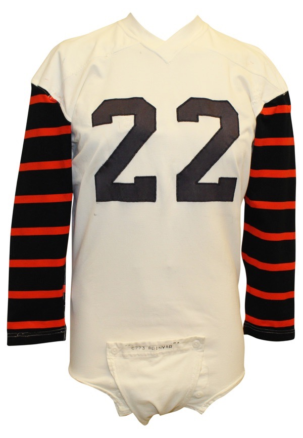 quality design c8304 f7455 Lot Detail - 1960s Princeton Tigers Game-Used #22 Jersey ...