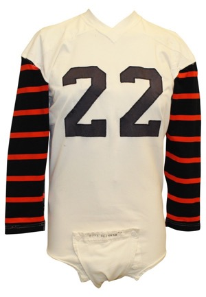 1960s Princeton Tigers Game-Used #22 Jersey (Graded 10 • Sourced From Princeton Tent Sale In The 80s)