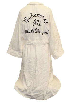 "Muhammad Ali Training-Worn ""World Champion"" Robe"