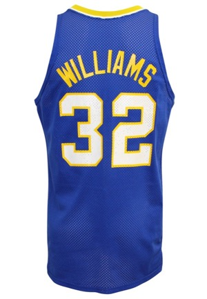 1988-89 Herb Williams Indiana Pacers Game-Used Road Jersey