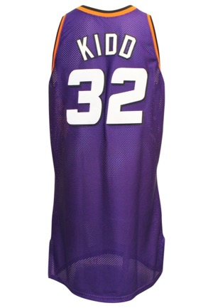 1998-99 Jason Kidd Phoenix Suns Game-Issued Road Jersey