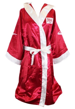 "2015 Billy Hope (Jake Gyllenhaal) ""Southpaw"" Screen-Worn Complete Boxing Robes, Shorts & Heavyweight Championship Pass (4)(Premiere Props COAs)"