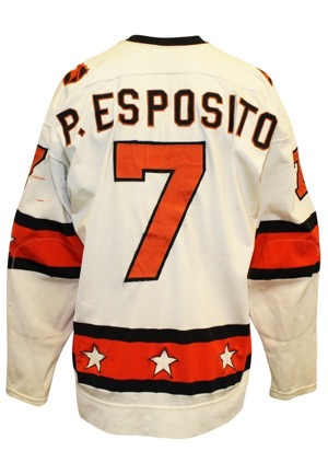 1973 Phil Esposito NHL All-Star Game-Used Jersey (Graded 10 • Photo-Matched • Art Ross Trophy Season)