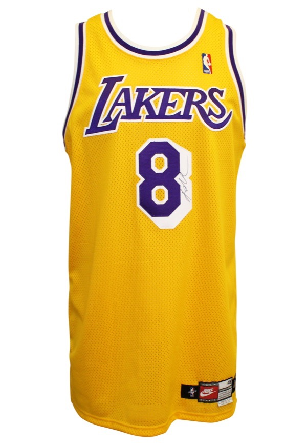 Lot Detail - 1997-98 Kobe Bryant Los Angeles Lakers Game-Used ...