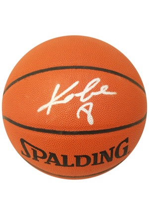 Kobe Bryant Single-Signed Spalding Basketball (JSA)