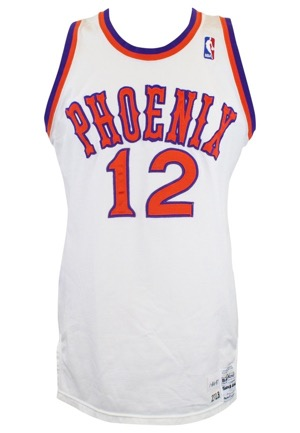 1986-87 Rafael Addison Phoenix Suns Game-Used Road Jersey