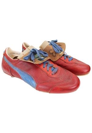 1978 Dennis Eckersley Boston Red Sox Game-Used Cleats