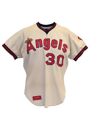 1973 Nolan Ryan California Angels Game-Used Road Jersey (Photo-Matched & Graded 9 • Outstanding Wear • Single Season Strikeout Record & 2x No-Hitter Season)
