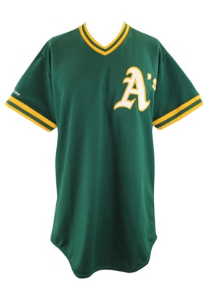 1989 Jose Canseco Oakland As Spring Training Game-Used Jersey