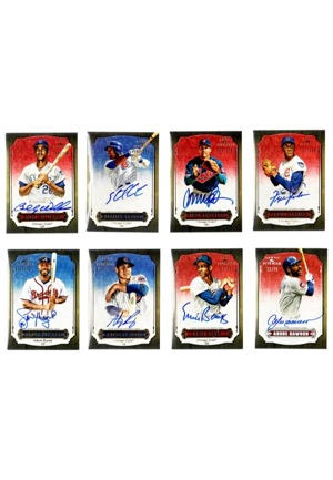 "2012 Topps Baseball ""Five Star"" LE Near-Complete Set Autographed Cards Featuring Kaline, Aaron, Musial & Many Others (78)(JSA)"