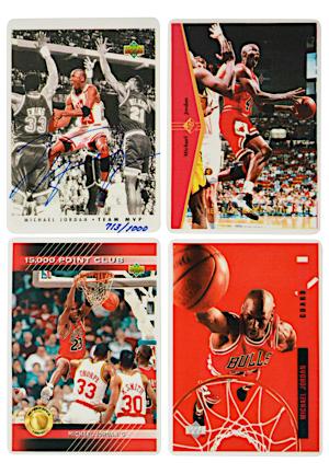 1fff7cbc50a Lot Detail - Michael Jordan Upper Deck Signature Series Porcelain ...