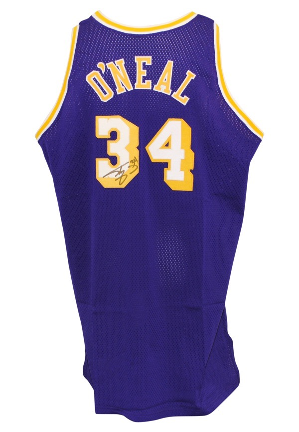 b0943d20d Lot Detail - 1996-97 Shaquille O Neal Los Angeles Lakers Game-Used ...