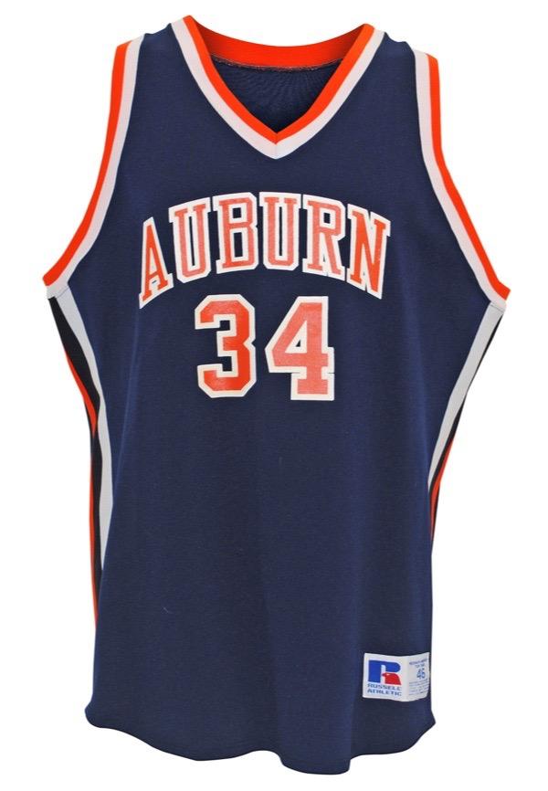 Lot Detail - Early 1980s Charles Barkley Auburn University Tigers ...