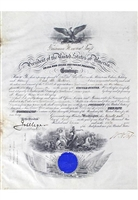 1911 William Howard Taft Autographed Presidential Documents (2)(JSA)
