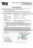 2000 Wilson Pickett Multi-Signed Artist Engagement Contract (JSA • Three Signatures Total • Rare)