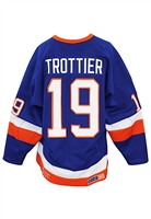 Circa 1985 Bryan Trottier New York Islanders Game-Used Jersey (Great Use • Lelands Documentation)