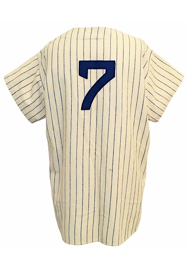 watch cca75 1197e Lot Detail - 1954 Mickey Mantle NY Yankees Game-Used ...