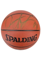 Dennis Rodman Single-Signed Spalding Basketball (JSA)