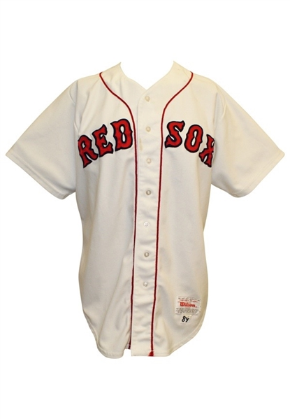 1989 Jim Rice Boston Red Sox Team-Issued Home Jersey