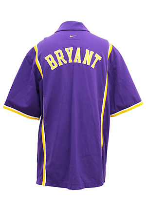 1998-99 Kobe Bryant Los Angeles Lakers Player-Worn Warm-Up Jacket