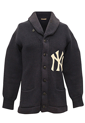 Circa 1910s New York Yankees Player-Worn Wool Team Sweater (Exceedingly Rare • Perfect Style Match)