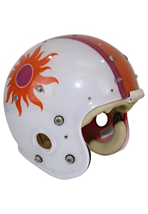 Mid 1970s Southern California Sun Team-Issued Clear Shell Helmet