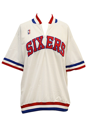 1990-91 Charles Barkley Philadelphia 76ers Warm-Up Shooting Shirt