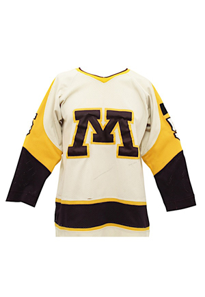 1980 Minnesota Golden Gophers Game-Used Sweater #5 (Repairs)