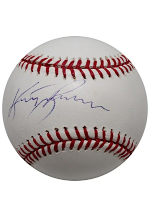 Kurt Russell Single-Signed OML Baseball (JSA • PSA/DNA)
