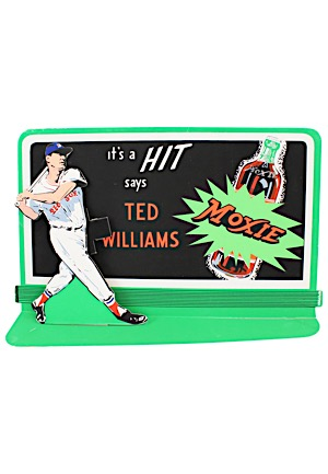 "Ted Williams ""Moxie"" Die Cut Counter Display"