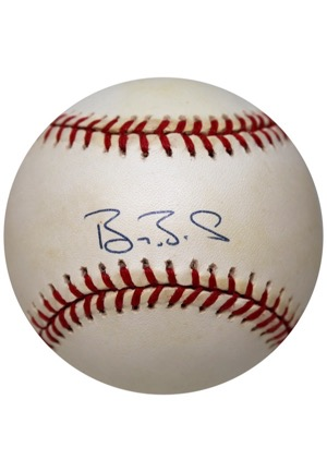 "Grouping Of ""500 Home Run Club Hitters"" Single-Signed Baseballs (6)(JSA)"