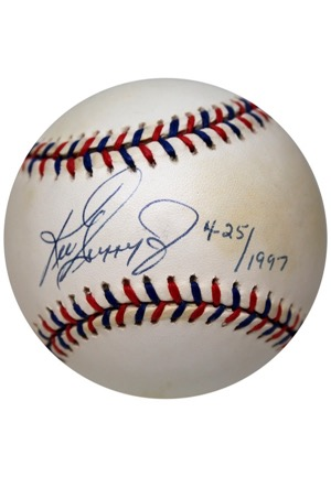Ken Griffey Jr. Single-Signed Baseballs (3)(JSA)