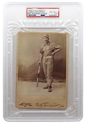 1888 Heyn Cabinet Jumbo Cartwright (PSA/DNA 4.5 • POP 1)